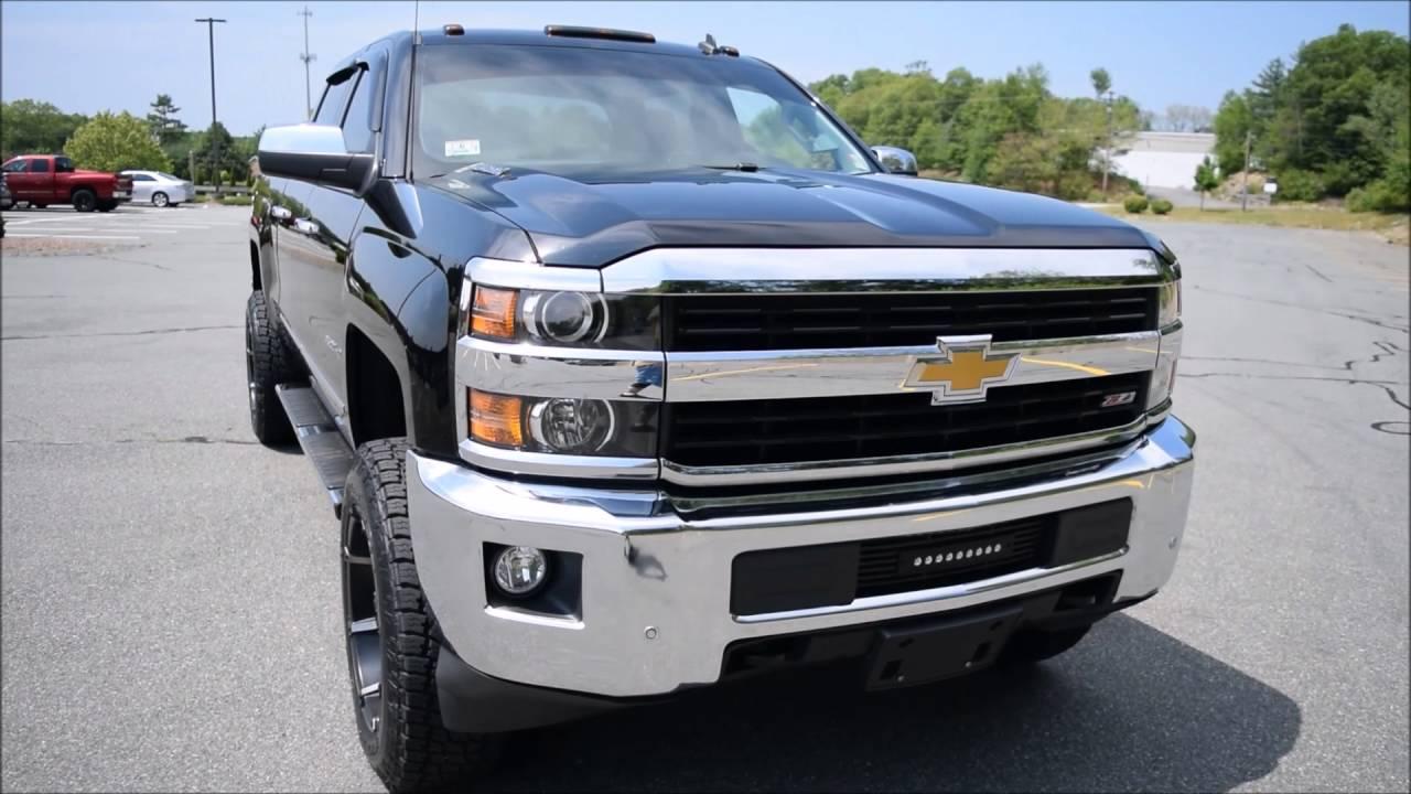 Silverado 2015 chevy silverado duramax : 2015 Chevy Silverado 2500HD Crew Cab Duramax Diesel - YouTube