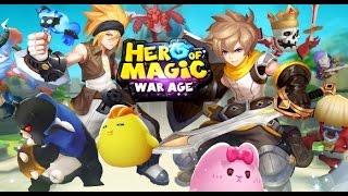 hero of magic war age cbt gameplay