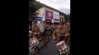 UVF Band @ 36th Ulster Division Parade 2014