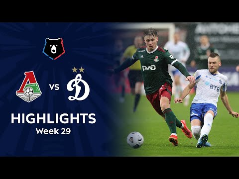 Lokomotiv Moscow Dinamo Moscow Goals And Highlights
