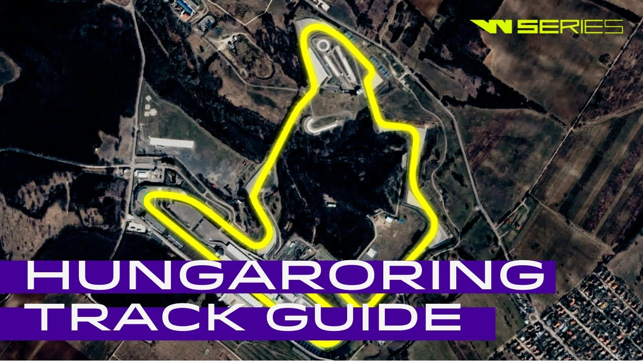 2021 W Series Race 4 | Hungary | Track Guide