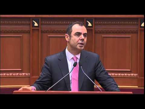Eduard Selami në parlament