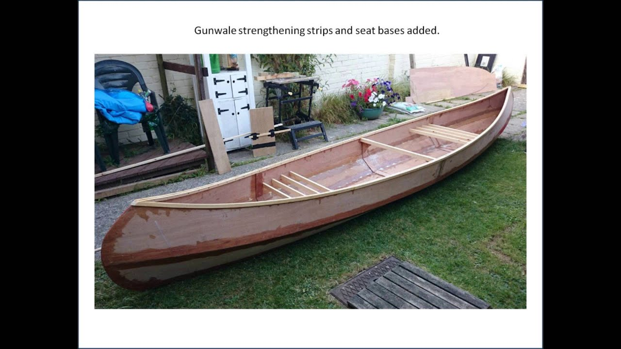Plywood Boat Build - Selway Fisher Wren