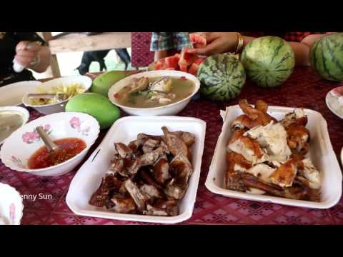 Cambodian Family Food, How We Cook And Eat In Family, Fast Food In Asia
