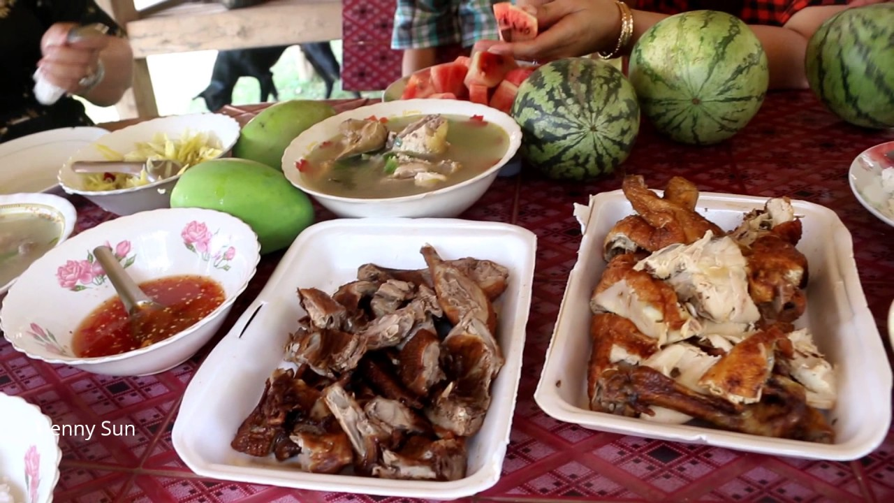 Download Cambodian Family Food, How We Cook And Eat In Family, Fast Food In Asia