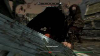 Skyrim: ALL Werewolf executions and Death blows