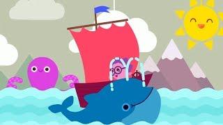 Развивающие песенки для детей - МАЛЫШАРИКИ - Песня зверей - Теремок песенки: мультики про животных