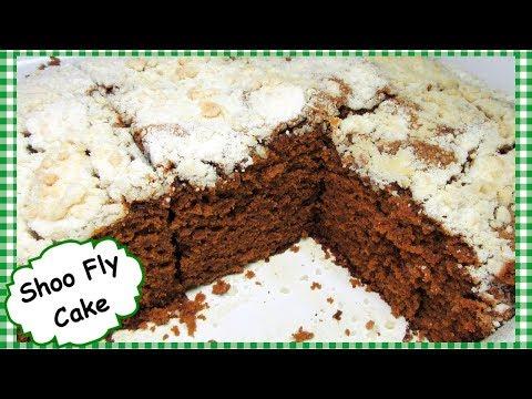 Pennsylvania Dutch SHOO FLY CAKE ~ Molasses Cake Recipe with Crumb Topping