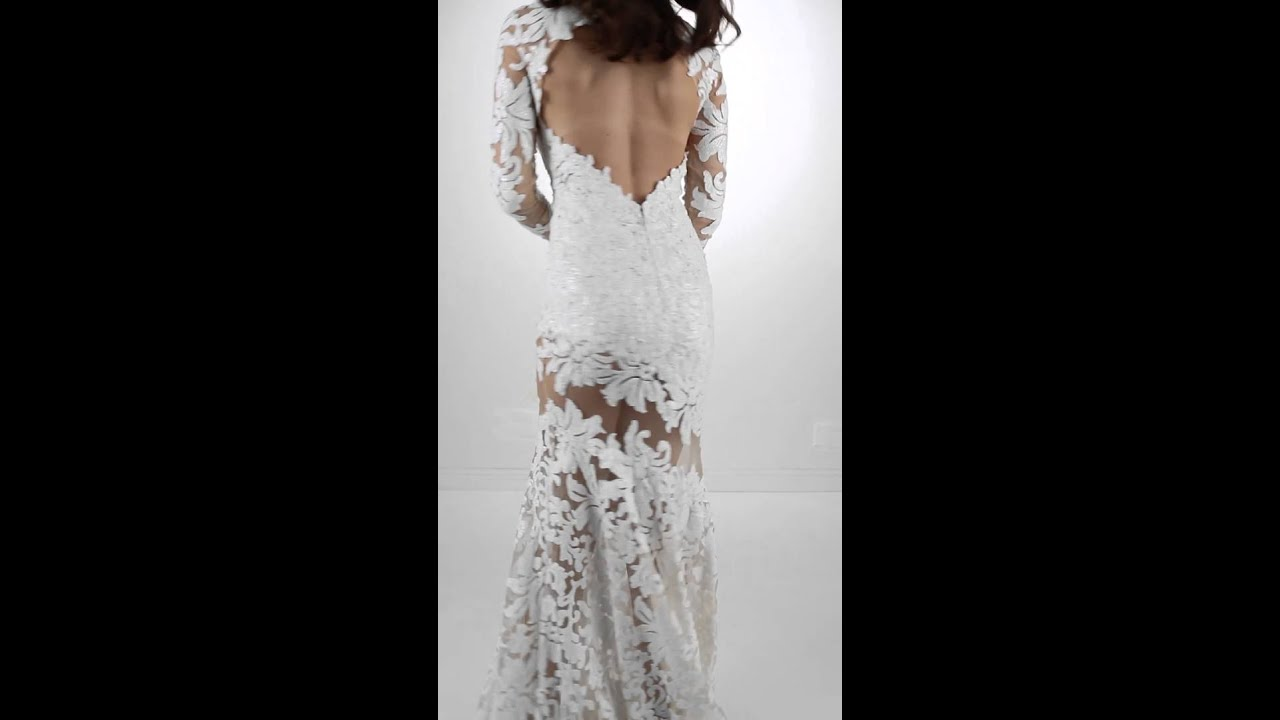 81563137cca6 Jovani 32607 White - YouTube