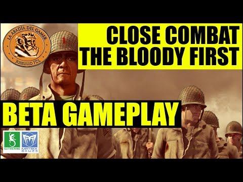 Close Combat The Bloody First gameplay español   Beta  
