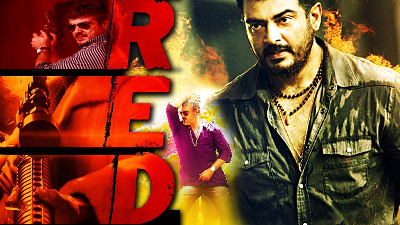 Red 2016 New Releases Hindi Dubbed Action Movie Ajith