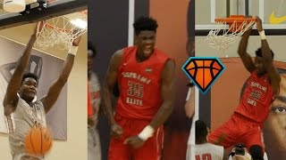 DeAndre Ayton Shows Off Elite Shooting Touch While Leading Cal Supreme To 4-0 Weekend In Indy!!