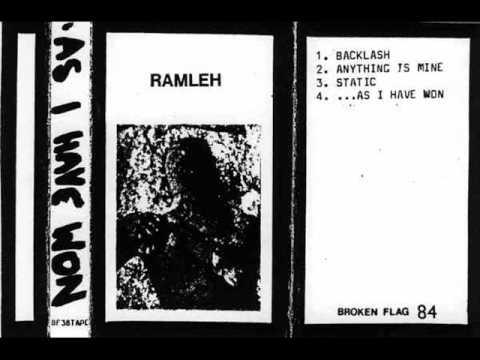 Ramleh - Backlash + Anything Is Mine