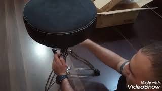 Unboxing 1st Chair drum throne by Tama