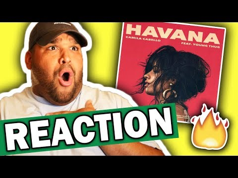 Camila Cabello ft. Young Thug - Havana [REACTION]