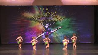 Witch Doctor- 6 year old acro group - 2016