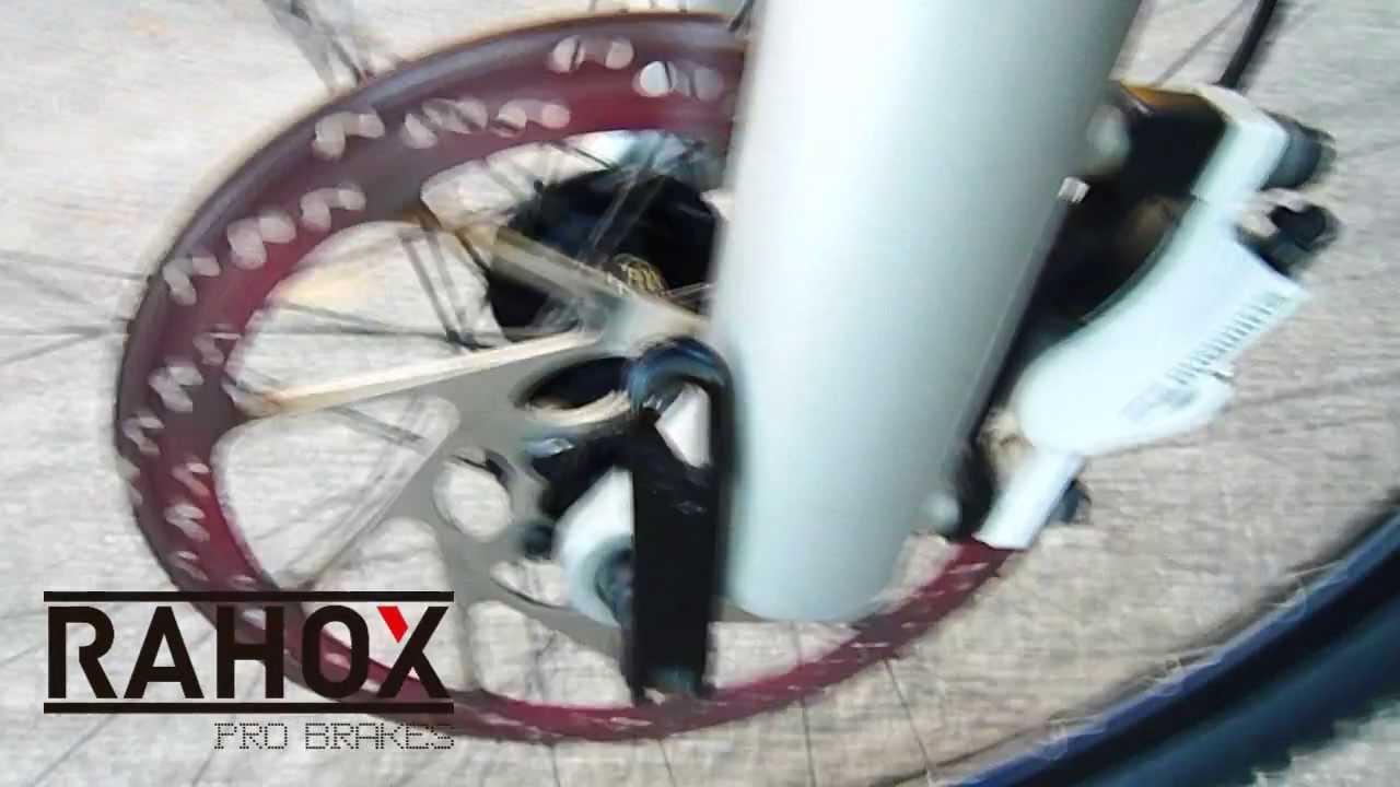 RAHOX mountain bike brake pads extreme testing - rotor ...