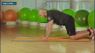 Как укрепить мышцы спины! Простые упражнения!(, 2014-05-12T15:30:52.000Z)