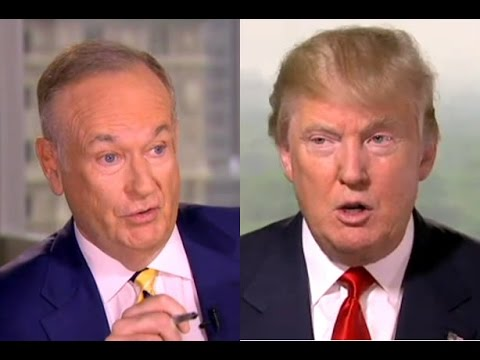 Bill O'Reilly Begs Donald Tump Not to Bully GOP