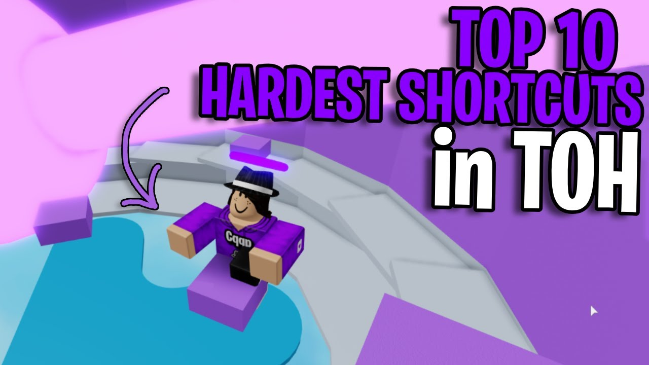 Download TOP 10 HARDEST TOWER OF HELL SHORTCUTS | TOH | ROBLOX