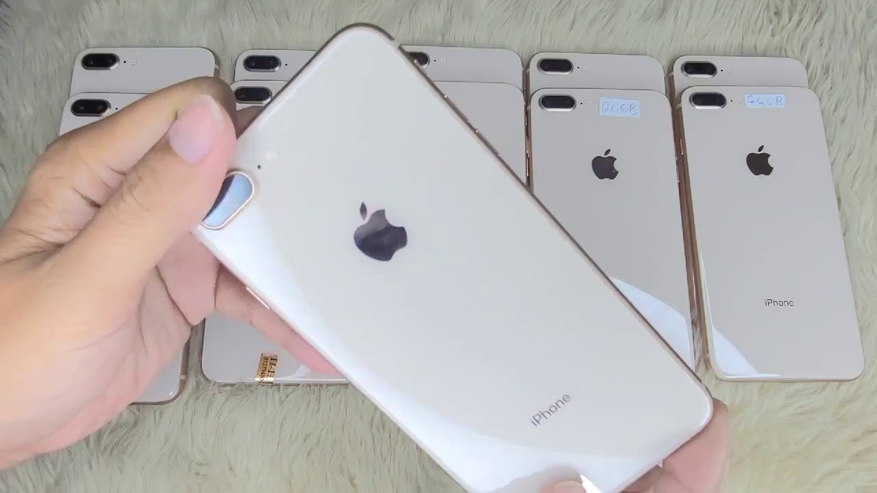 Download មួយទឹកដូចថ្មី iPhone 8+ 64g | Used iPhone 8+ 64g Gold LL/A