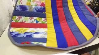 Faça Tapetes Redondo e Colorido – Fácil e Rápido.