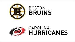 Recap: Bruins 3, Hurricanes 4 - F/OT • Jan 8, 2017