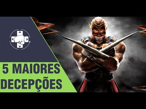 MORTAL KOMBAT: OS 5 PIORES FATALITIES DO DECEPTION thumbnail