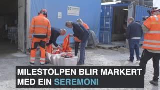 Statens vegvesen - E134 Gvammen-Århus, gjennomslag