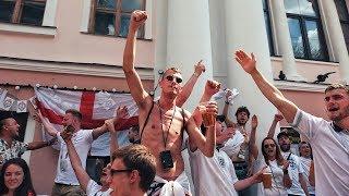 УГРОЗЫ И ЗАПУГИВАНИЯ!!! Как ведут себя Английские фанаты. Британские болельщики в России.
