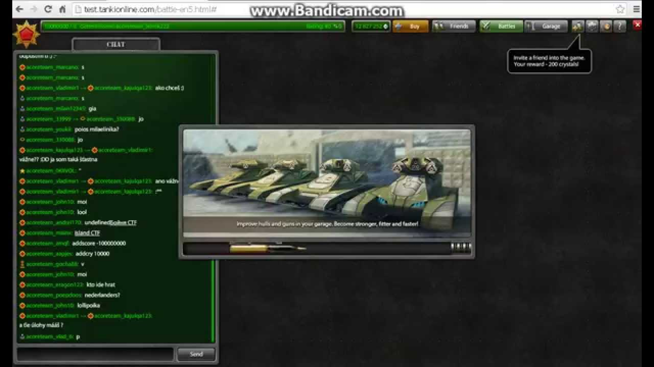 Test Tanki Online - YouTube
