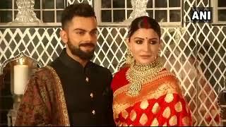 Virat Kohli Anushka Sharma in traditional dress at Delhi Reception |  Boldsky