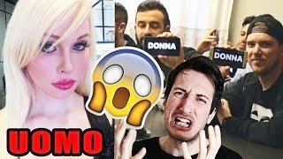 INDOVINA SE E' UOMO O DONNA? w/ illuminati crew