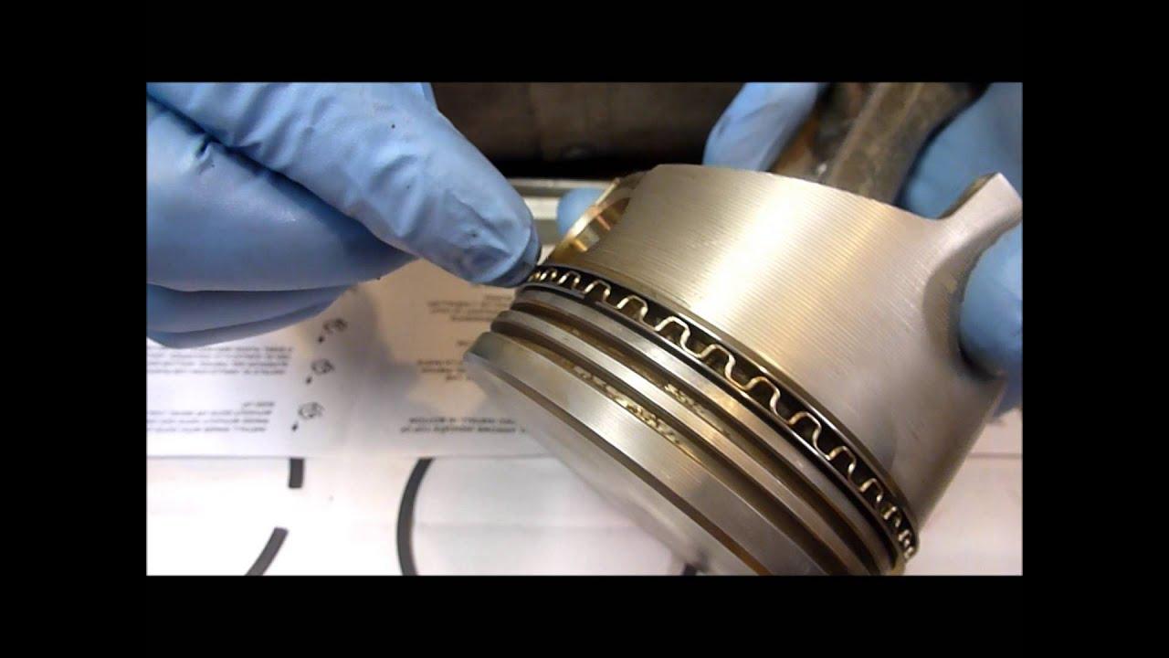 medium resolution of rebuilding an onan b43g part 6 piston installation