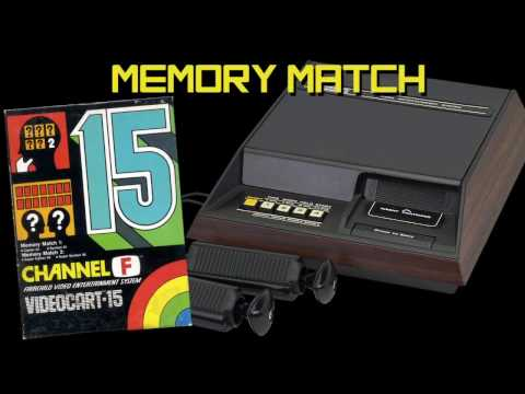 VC 15 - Memory Match - (1978) - Channel F - WIN! HD