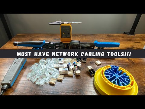 Must Have Network Cabling Tools