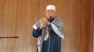 Khutbah Mesjid Azzikra 10 Maret 2017,KH Tadjuddin Hasan Al Bantani