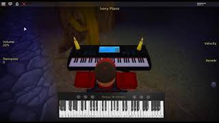 Whatever it takes - Evolve by: Imagine Dragons on a ROBLOX piano.