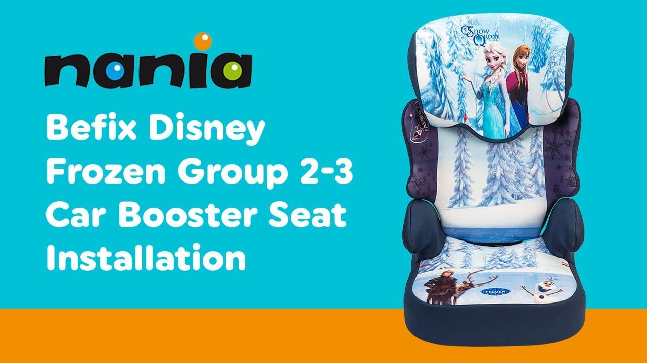 Installation Guide For Nania Befix Group 2 3 Car Seat
