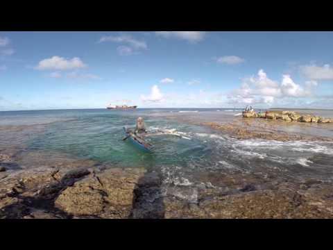 Namdrik Atoll Coconut Diaries Video Blog 3 Island boat life