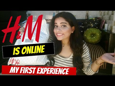 H & M HAUL & MY FIRST ONLINE H & M SHOPPING EXPERIENCE   Sana K
