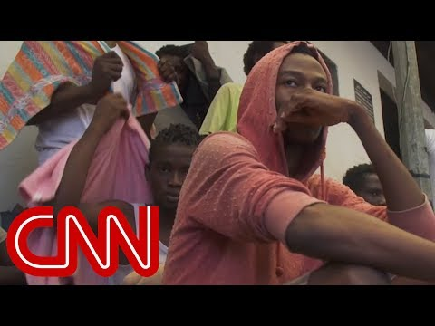 Migrants being sold as slaves in Libya