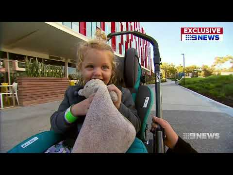3-year-old Left Paralysed By Flu | 9 News Perth