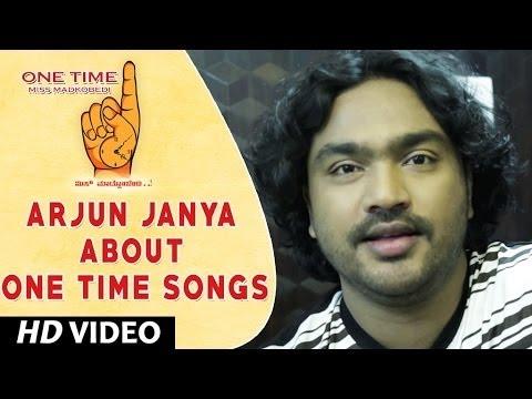 One Time Kannada Movie || Arjun Janya Wishing One Time Movie team || Tejus, Neha Saxena