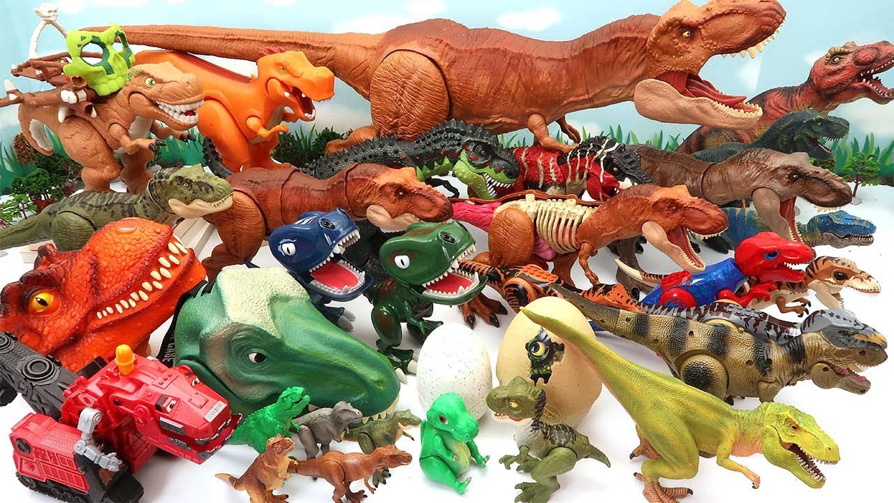 50 Tyrannosaurus Dinosaur Toys For Kids - Jurassic World, Schleich, Dino Eggs, Dino Robot 공룡
