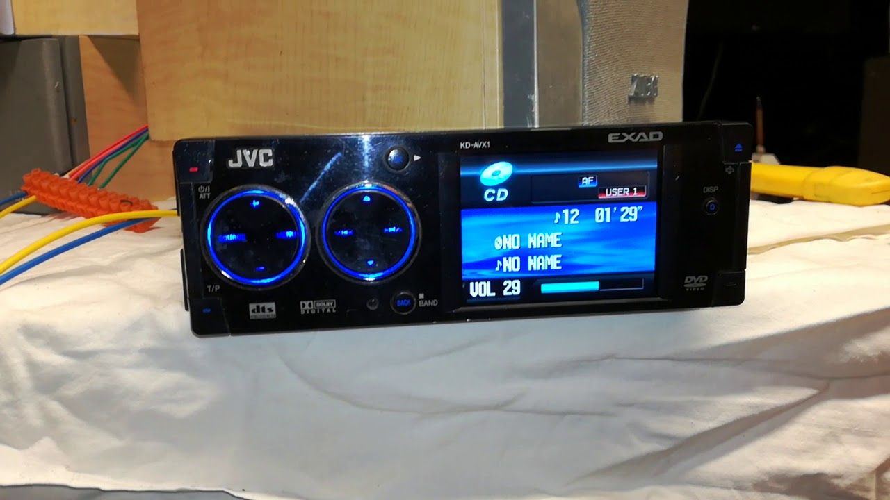 JVC KD-AVX1 EXAD - YouTubeYouTube