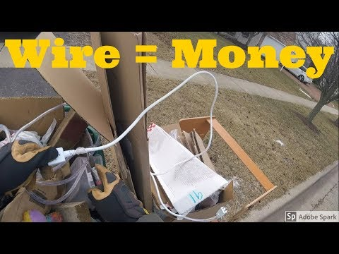 Making Cash Scrapping Wire