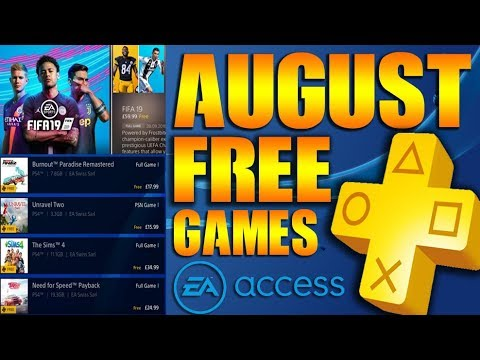 Ps4 Free Games Glitch PS Plus August 2019 Leaked EA Access Involved?