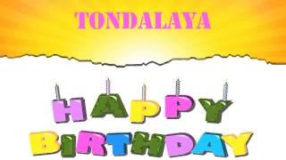 Tondalaya Birthday Wishes & Mensajes
