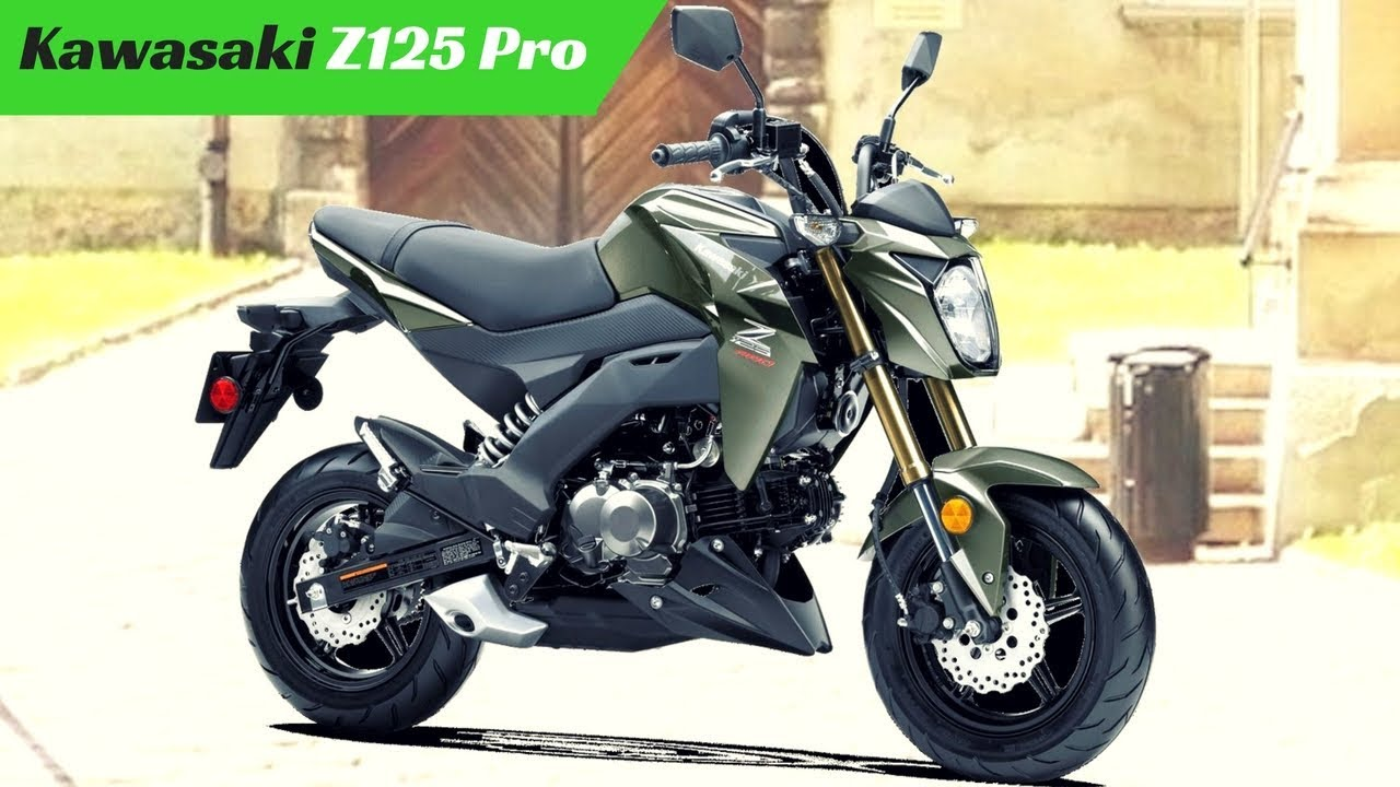 NEW 2018 Kawasaki Z125 Pro - Provided Kawasaki Automatic Compression  Release (KACR) system
